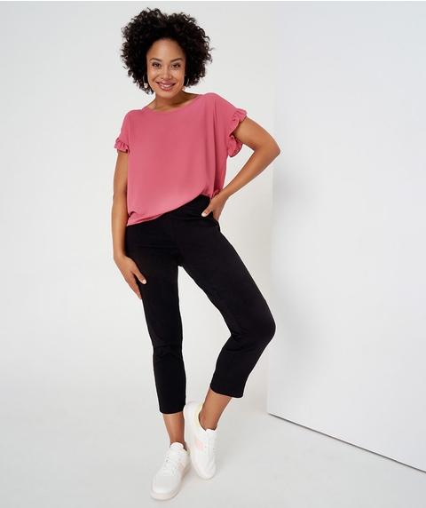 Ankle Length Black Pant