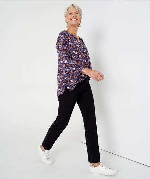 Short Length Straight Pant