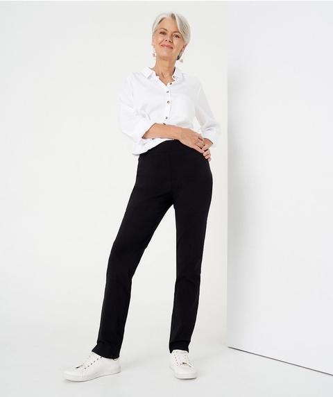 Regular Length Straight Pant