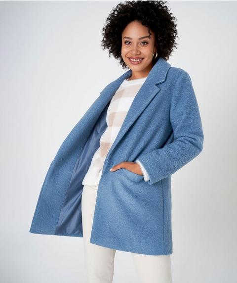 L/S Textured Lined Coat