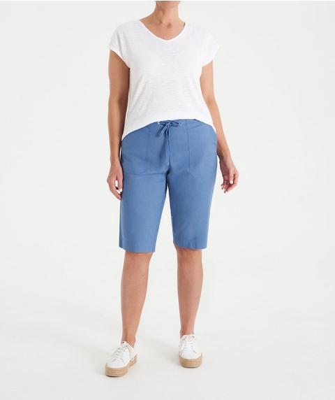 Knee Length Cotton Short