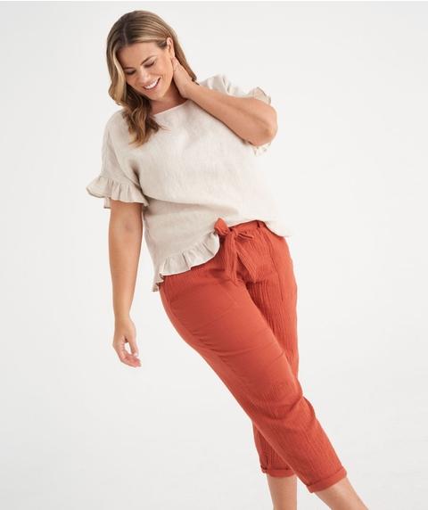Cotton Texture Pant
