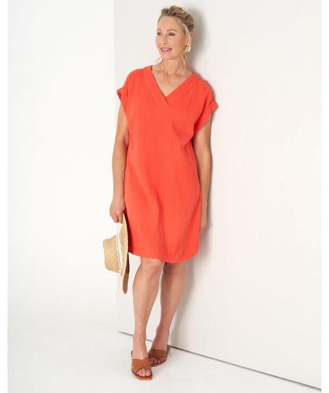 Cotton Texture Dress