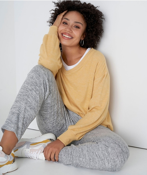 TAPERED COSY LOUNGE PANT