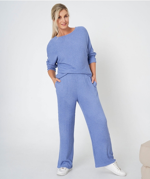 Straight Cosy Lounge Pant