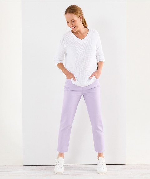 A/L Fly Front Supersoft Jean