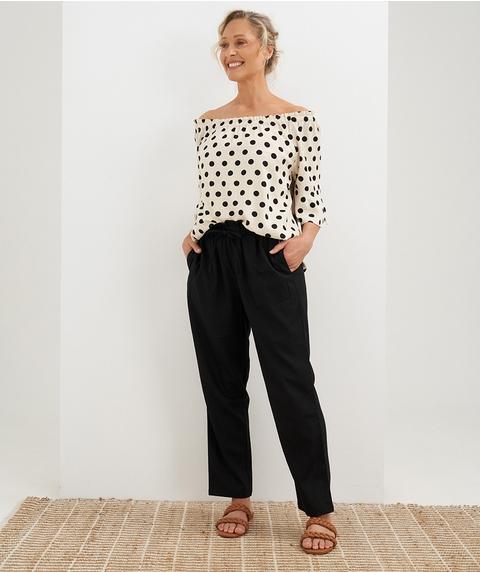 F/L Linen Pant
