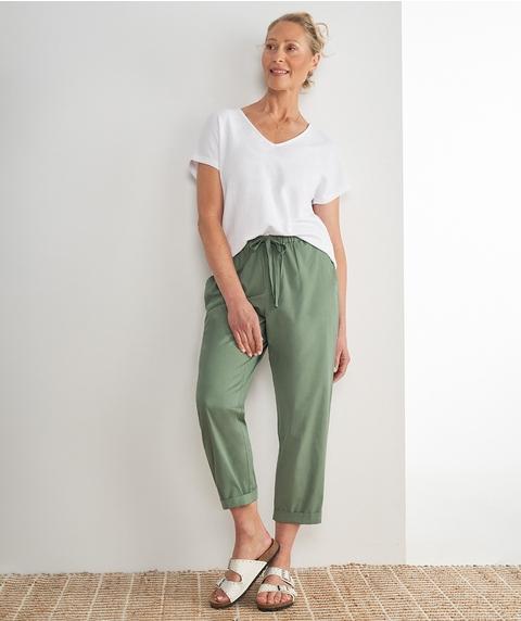A/L Cotton Drawcord Pant
