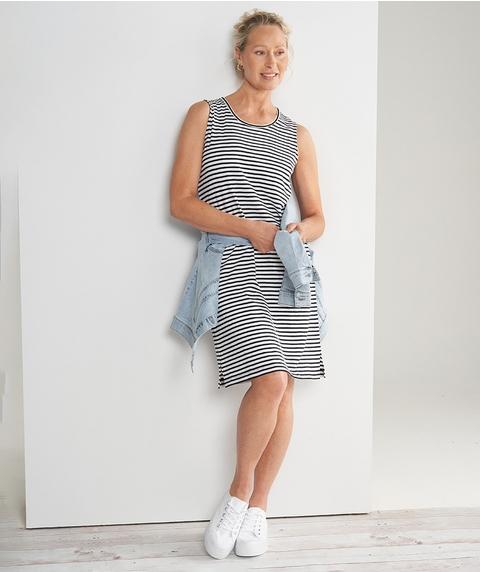 Stripe T-Shirt Dress